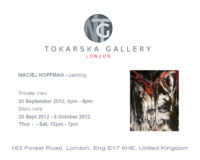 Tokarska Gallery – solo exhibition